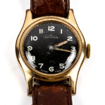 AMIDA - a Second World War Period gold plated Royal Navy Naval Air Squadron pilot's mechanical