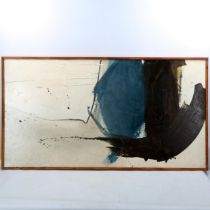 Willy Tirr (1915 - 1991), acrylic on canvas, together, signed verso, 62cm x 115cm, framed, exhibited