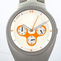 HANI RASHID for Alessi, a stainless steel bracelet chronograph watch Good working order, good