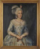 Portrait of Lady D. Maria Clara Joaquina