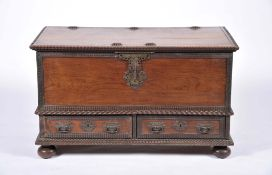 A chest with two drawers