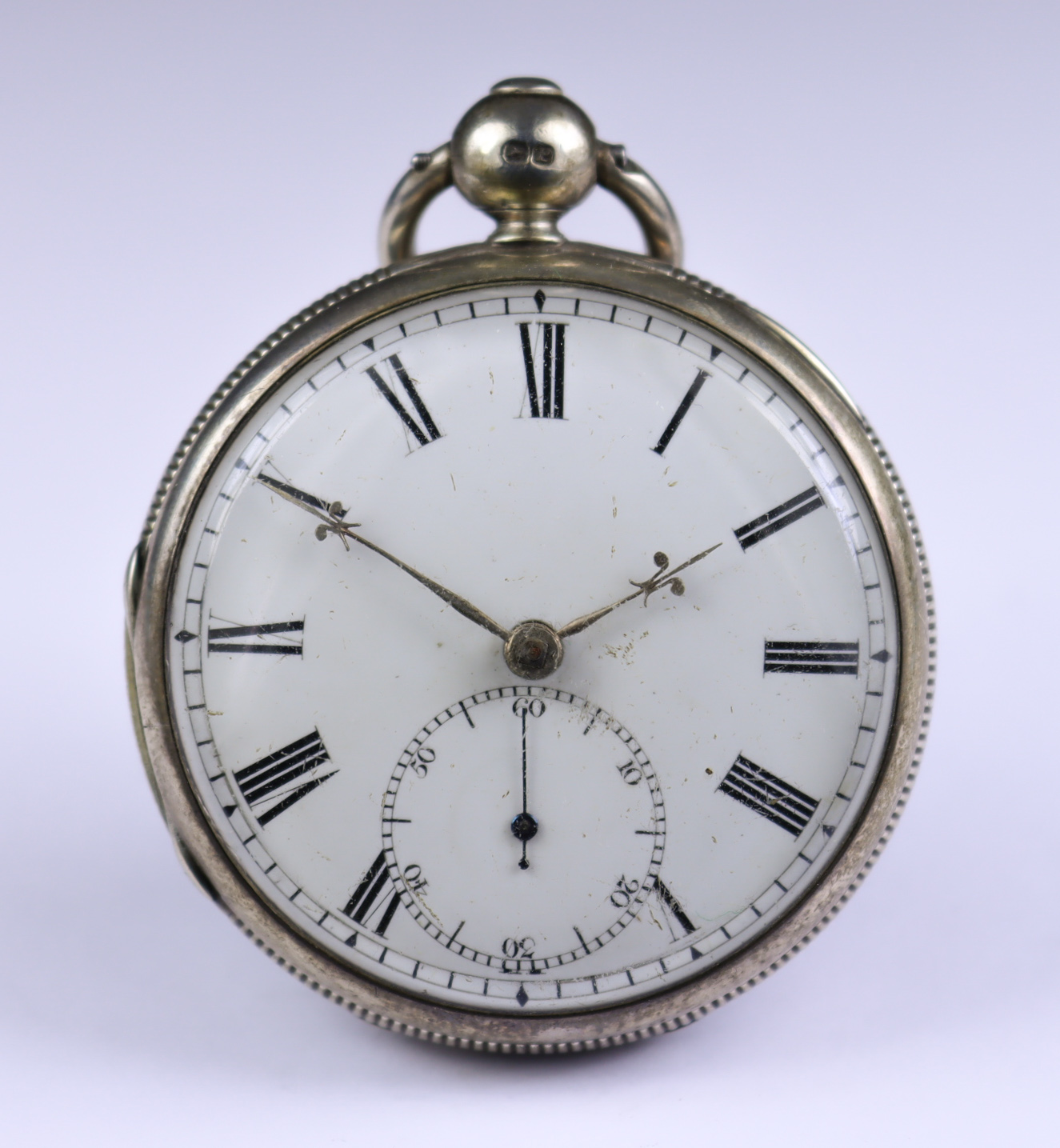 A Silver Cased Open Faced Duplex Pocket Watch, by French, Royal Exchange, London, 1830, 52mm