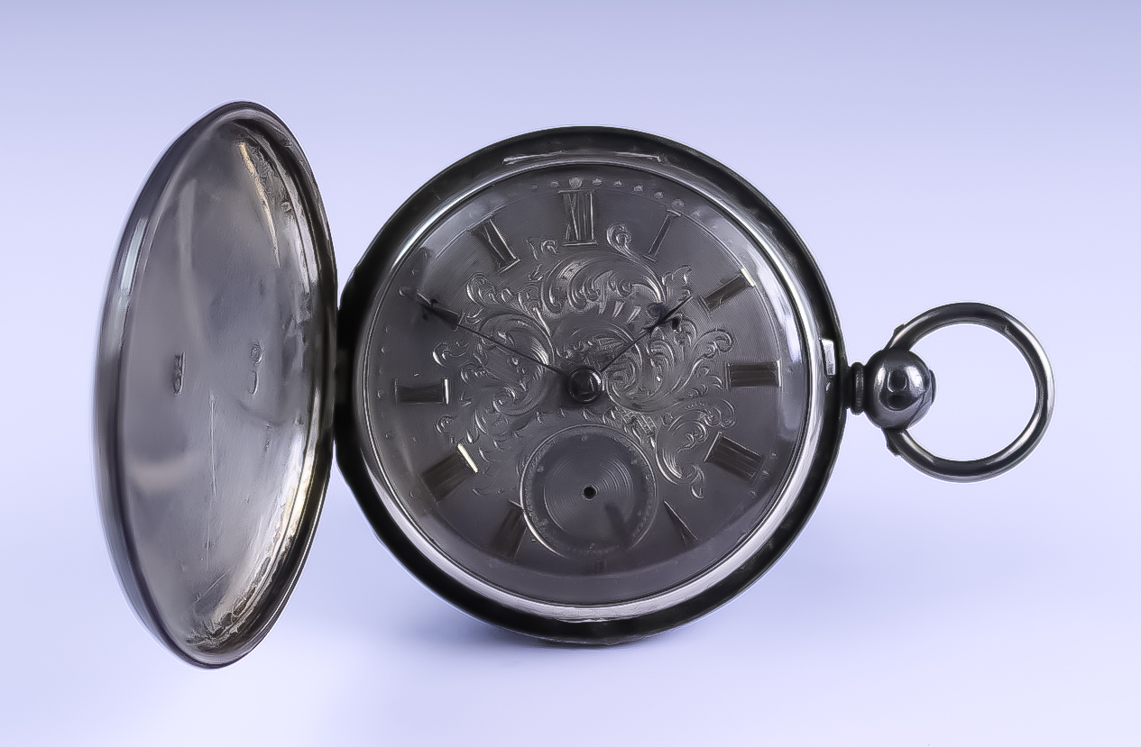 Four Continental Silver Cased Pocket Watches, comprising - one full hunter cased 46mm