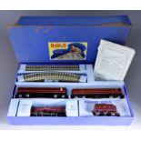 "A Hornby 00 Tin Plate Passenger Train Set EDP 2 - ""Duchess of Atholl"", with locomotive, tender,"