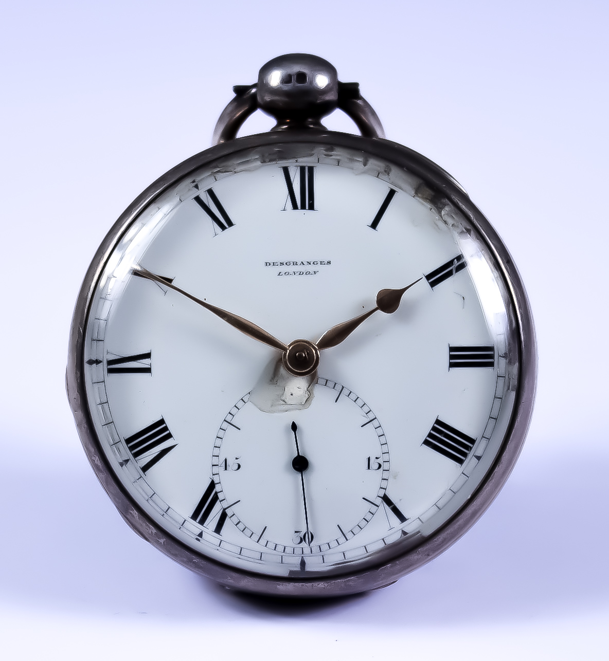 A Silver Cased Open Faced Fusee Lever Pocket Watch, by Des Granges Cote Recordon, London, 1822, 52mm