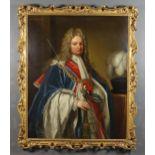 After Godfrey Kneller (1646-1723) - Oil painting - Three-quarter length portrait of Robert Harley,