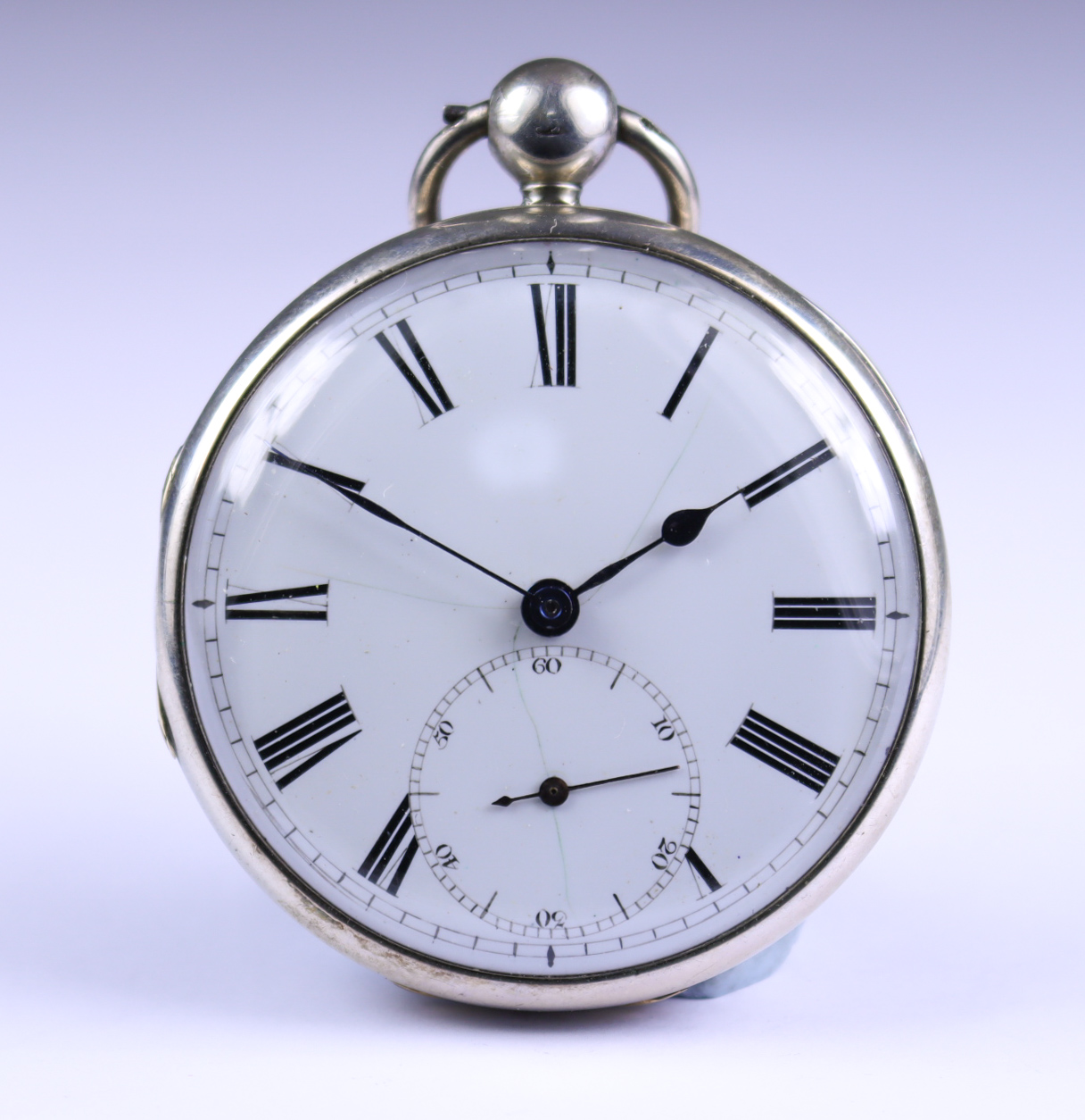 A Silver Cased Open Faced Fusee Lever Pocket Watch, by W. Webster, Preston, 1834, 52mm diameter