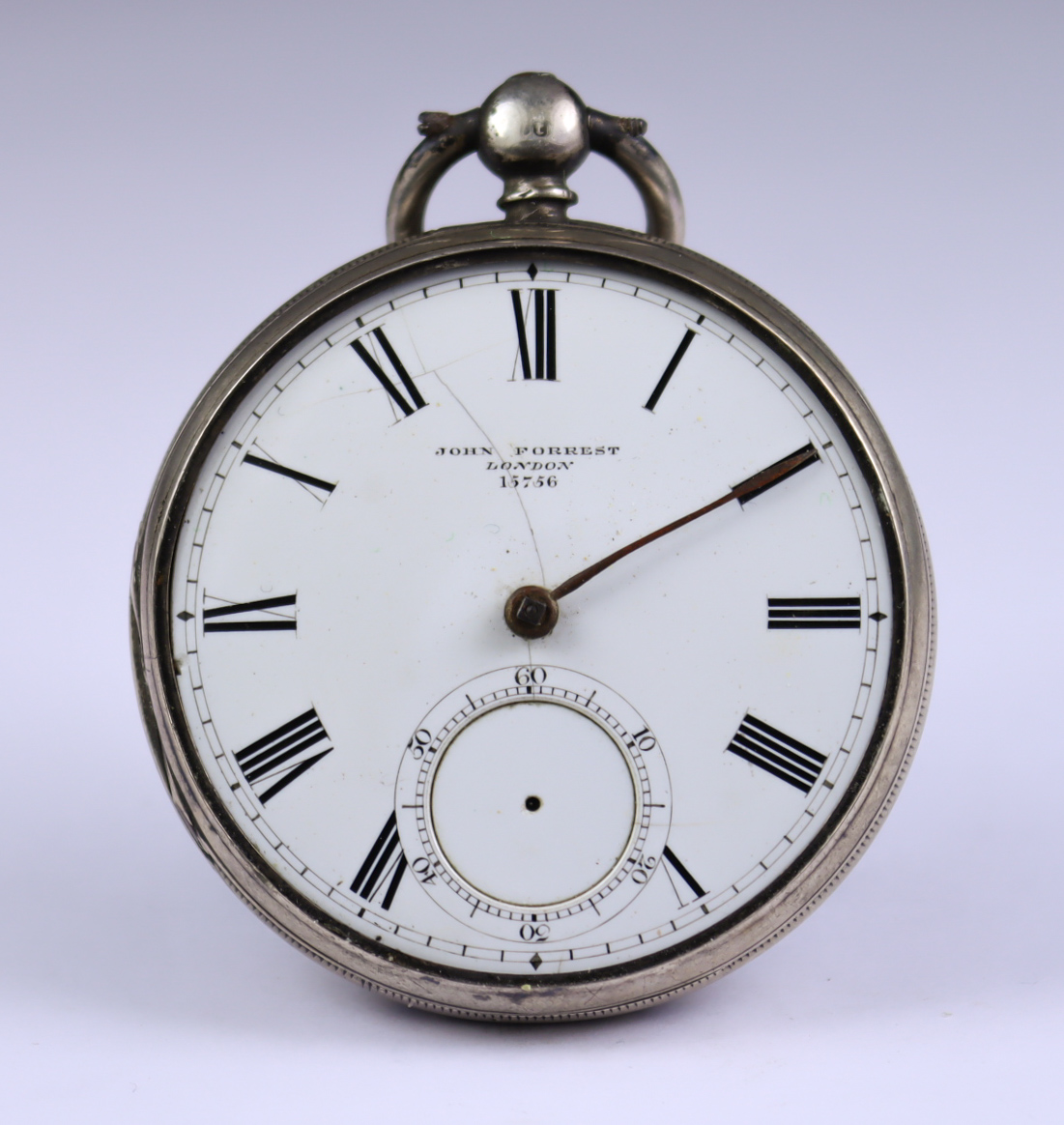 Three Silver Cased Open Faced Fusee Lever Pocket Watches, comprising - one by John Forrest,