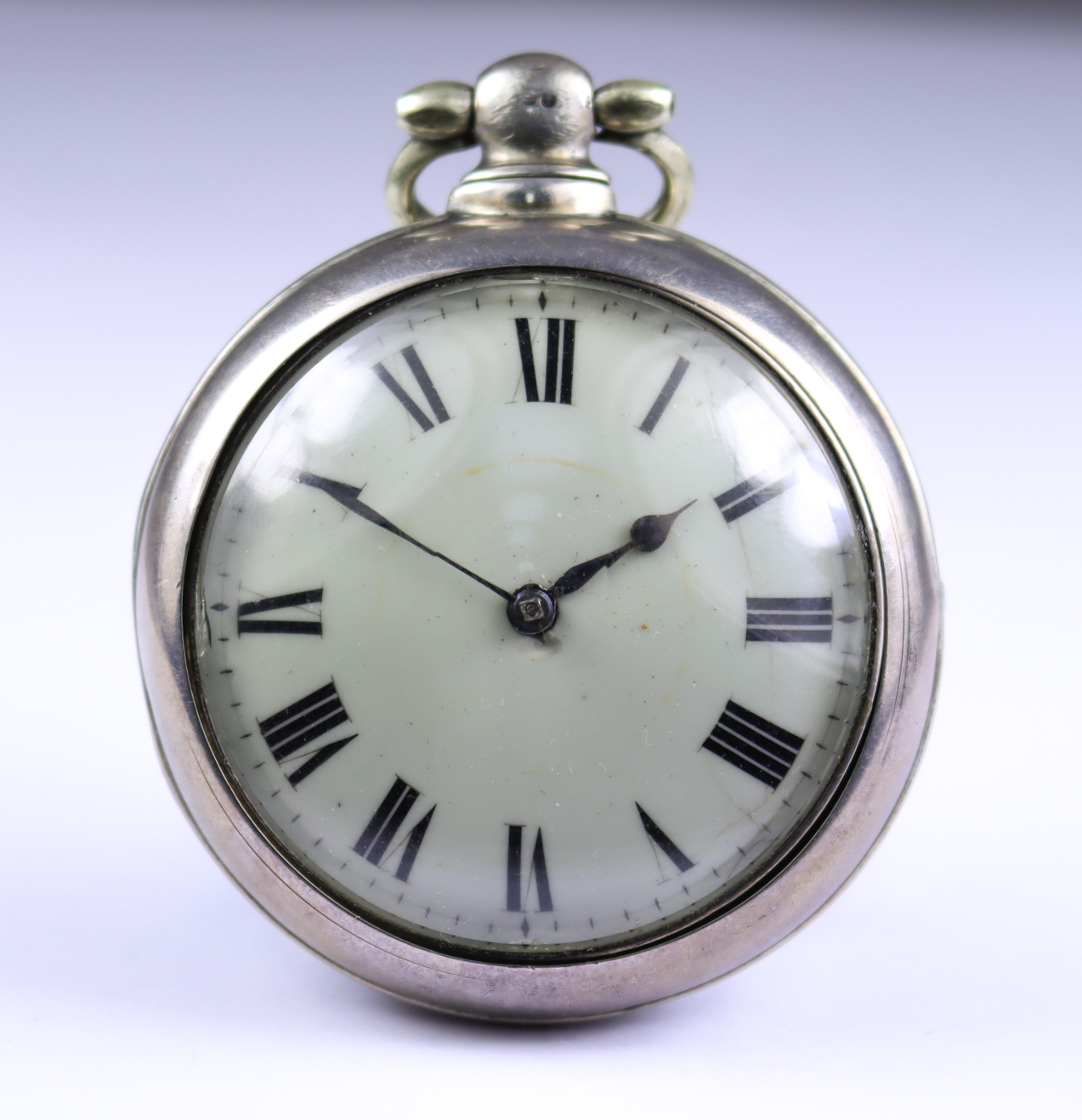 A Silver Cased Open Faced Verge Pocket Watch, by Thomas Williams, Liverpool, 1781, 56mm