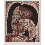 """Pablo Picasso (1881-1973) - Linocut - """"Femme au Collier"""", 1962, Cercle D'Art Edition Paris 1962,"""