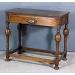A Plated Old English Pattern Table Service Contained in Oak Table Canteen, the table service for