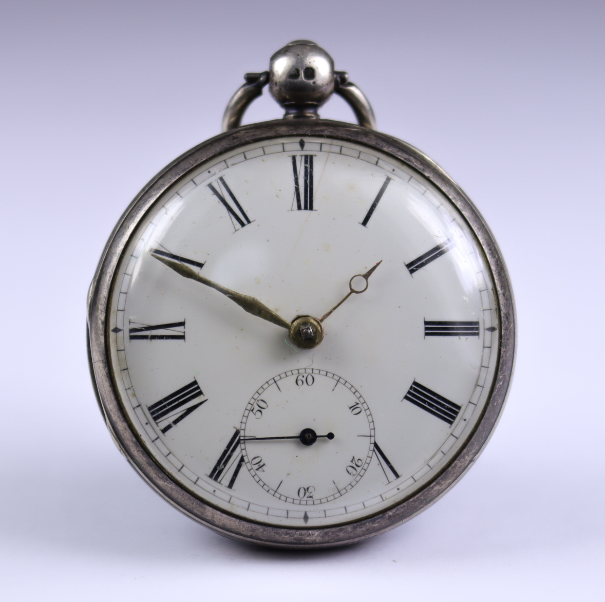 Two Silver Cased Open Faced Fusee Lever Pocket Watches, one by Thomas Bott, Liverpool 1849, 45mm