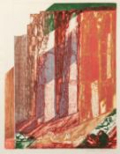 NORMAN JAQUES (1922-2014) TWO ARTIST SIGNED ETCHINGS Mid West, USA 17 ½? x 13 ½? (44.4cm x 34.3cm)