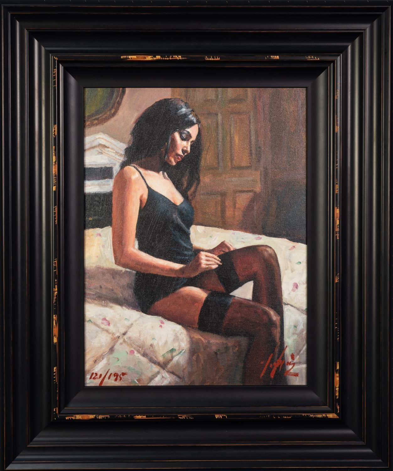 FABIAN PEREZ (b.1967) ARTIST SIGNED LIMITED EDITION COLOUR PRINT ?Kayleigh at the Ritz III?, (121/ - Image 2 of 2