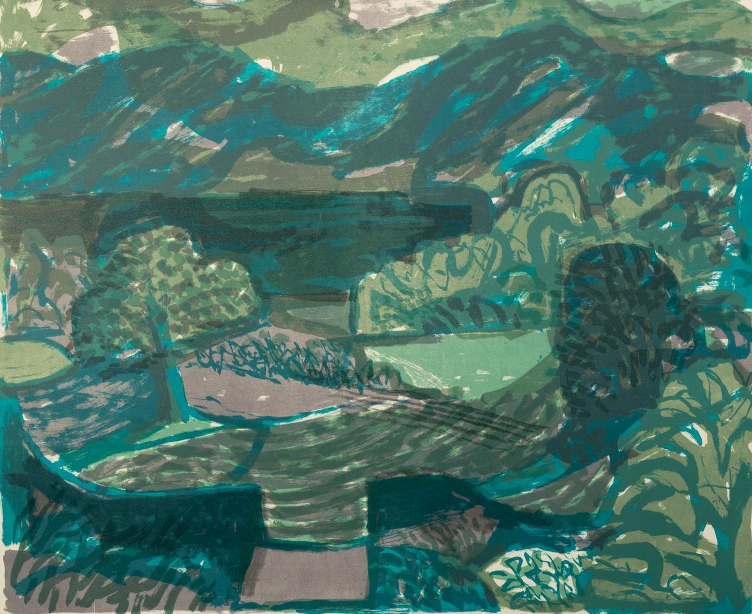 NORMAN JAQUES (1922-2014) TWO COLOUR PRINTS Morning Mist Ullswater, (8/12) 21? x 25? (53.3cm x 63. - Image 2 of 2