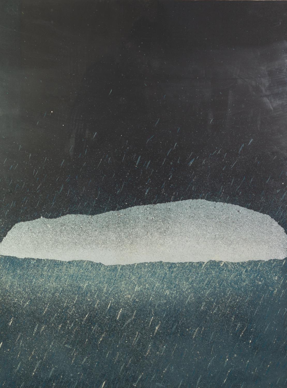 ALAN COX (b.1941) ARTIST SIGNED LIMITED COLOUR PRINT ?Long Barrow II?, (40/40), dated (19)72 31? x