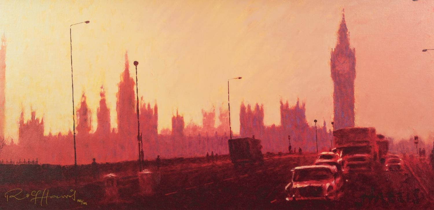 ROLF HARRIS (b.1930) ARTIST SIGNED LIMITED EDITION COLOUR PRINT ?Fifties Rush Hour? (183/195),