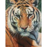 TONY FORREST (b.1961) ARTIST SIGNED LIMITED EDITION COLOUR PRINT ?Wild Thing?, (13/195), with