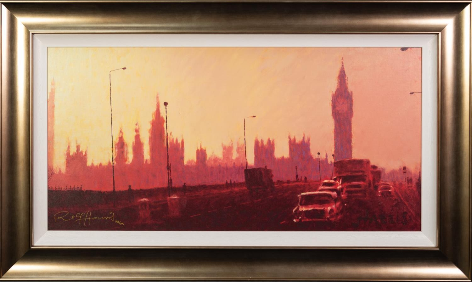 ROLF HARRIS (b.1930) ARTIST SIGNED LIMITED EDITION COLOUR PRINT ?Fifties Rush Hour? (183/195), - Image 2 of 2