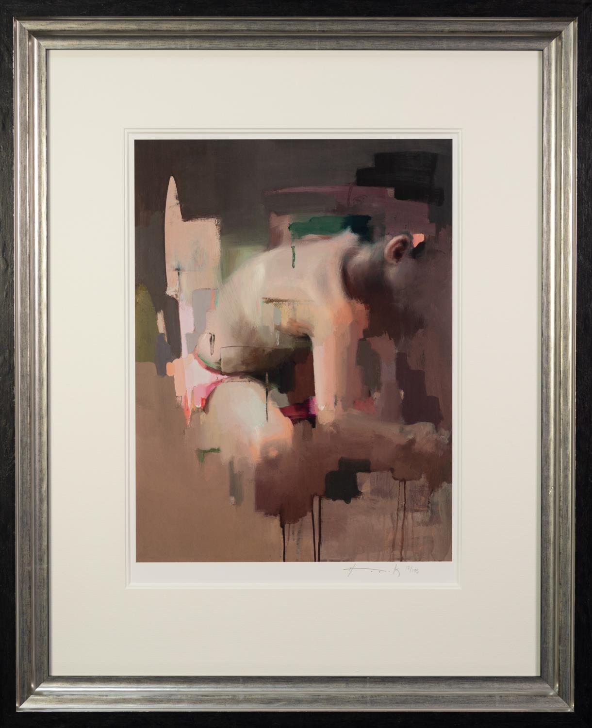 CHRISTIAN HOOK (b.1971) ARTIST SIGNED LIMITED EDITION COLOUR PRINT ?Notion B?, (12/195), with - Image 2 of 2