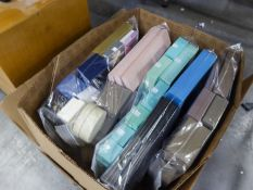 QUANTITY OF MODERN JEWELLERY BOXES FOR RINGS, BRACELETS ETC... (APPROX 120+)