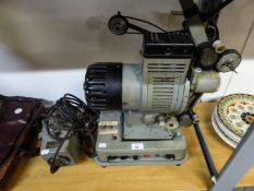 A 16mm PROFESSIONAL CINE PROJECTOR 'CINE' TECHNIC' AND TRANSFORMER