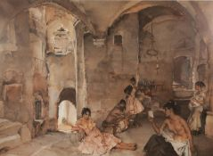 AFTER W. RUSSELL FLINT LIMITED EDITION COLOURED PRINTFive female figures in an interiorUnsigned,