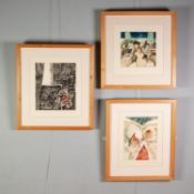 PETER OAKLEY (1935-2007)FOUR ARTIST SIGNED LIMITED EDITION ETCHINGS OF SIMILAR SIZE?Window in