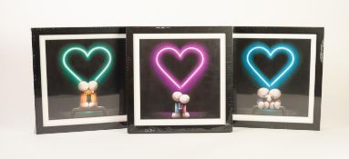 DOUG HYDE (b.1972) COLLECTOR?S BOX SET?The Box of Love?, (476/495), with certificate Comprising: ?