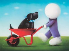DOUG HYDE (b. 1972) ARTIST SIGNED LIMITED EDITION COLOUR PRINT?Daisy Trail?, (283/395), no