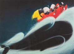 DOUG HYDE (b. 1972) ARTIST SIGNED LIMITED EDITION COLOUR PRINT?A Whale of a Time?, (118/395), with