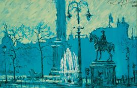 ROLF HARRIS (b.1930) ARTIST SIGNED LIMITED EDITION COLOUR PRINT ?Trafalgar Square?, (60-95), with
