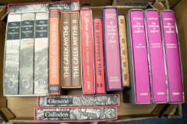 FOLIO SOCIETY, NON-FICTION. PEVSNER - THE CATHEDRALS OF ENGLAND, three volumes, The South East,