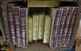 EDWARD GIBBON DECLINE & FALL OF THE ROMAN EMPIRE, published Folio Society, 7 volumes, in slip