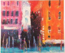 † CAROLINE BAILEY SIGNED ARTIST PROOF COLOUR PRINT The Grand Canal Venice 13 ¾? x 16 ½? (35cm x
