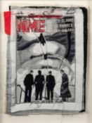 TRACEY COVERLEY (b.1970) FABRIC AND THREAD FROM THE NME COVER SERIES ?N.M.E. 14th JUNE, 1980?, IAN