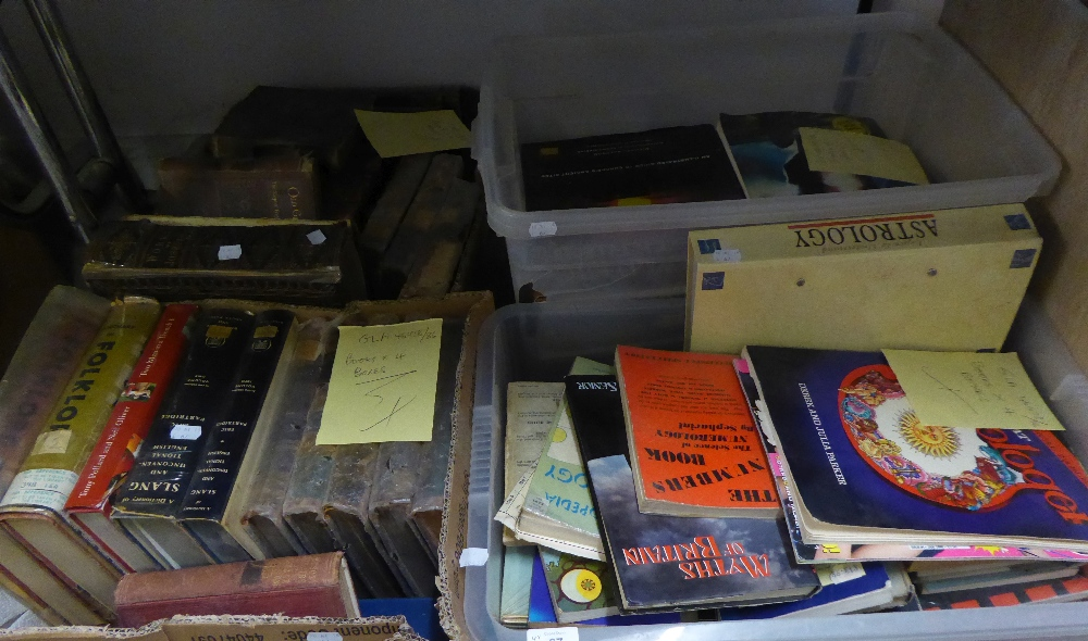 BOOKS - VARIOUS AUTHORS SUNDRY WORKS INCLUDING; PIECES RELATING TO ASTROLOGY, MYTHOLOGY, THE ART