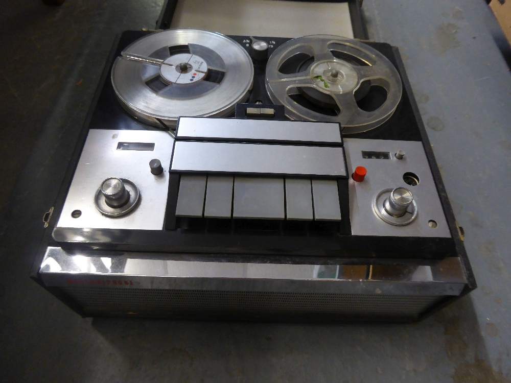 MARCONIPHONE REEL-TO-REEL PORTABLE TAPE RECORDER