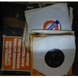 APPROX 35 CIRCA 1970's VINYL LP RECORDS, POPULAR MUSIC INCLUDING AMERICAN COUNTRY, EAGLES, ABBA,