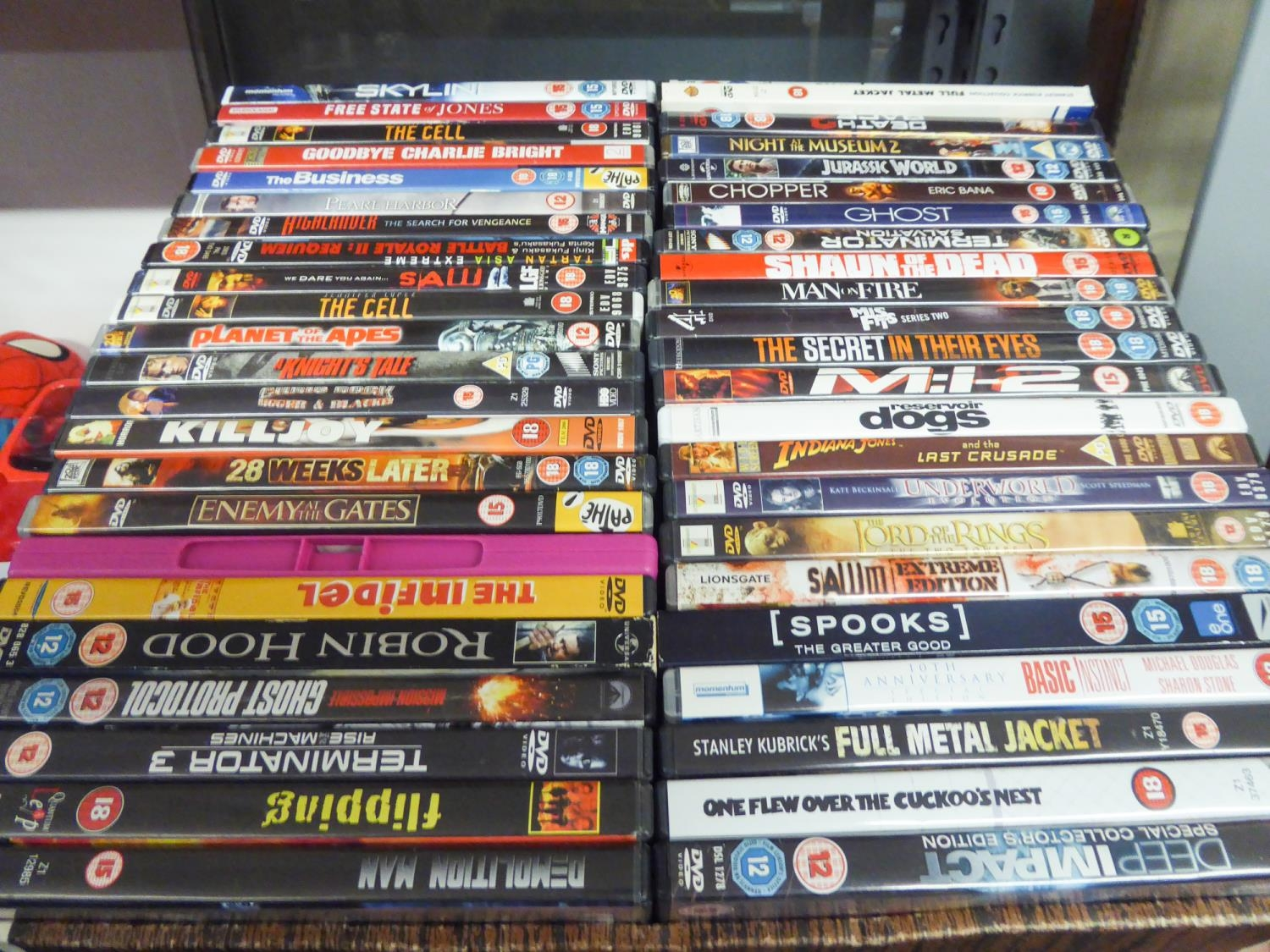 APPROX 90 DVD's VARIOUS