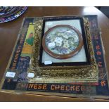 VINTAGE 'CHINESE CHECKERS' BOXED BOARD GAME, PRODUCED BY GOTHAM PRESSED STEEL CO. NEW YORK (BOX WITH