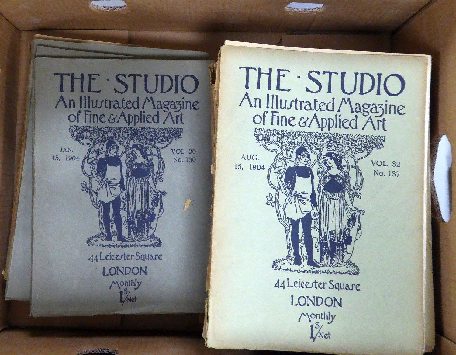 A large quantity of The Studio, An Illustrated Magazine of Fine & Applied Art, all in original - Image 2 of 2