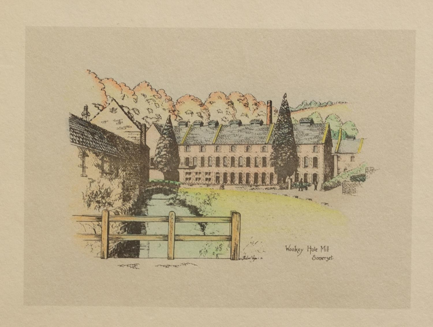 ROBERT LINNELL ARMITAGE (1898-?) FOUR ARTIST SIGNED ETCHINGS ?St. Michael?s Mount, Cornwall?, - Image 5 of 6