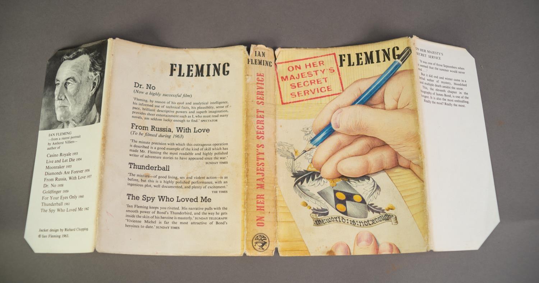 JAMES BOND. Ian Fleming- On Her Majesty?s Secret Service, OHMSS, pub Jonathan Cape, 1963, 2nd - Image 5 of 5