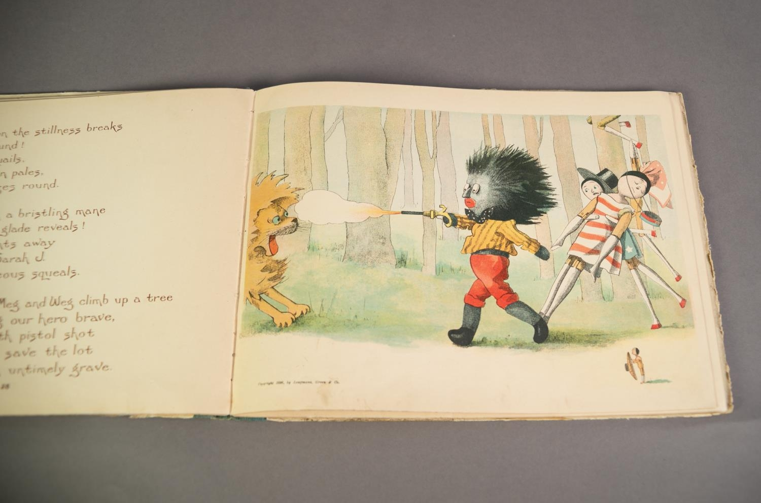 Florence K Upton- The Golliwogg?s Bicycle Club, words by Bertha Upton, pub Longmans Green and Co, - Image 3 of 4
