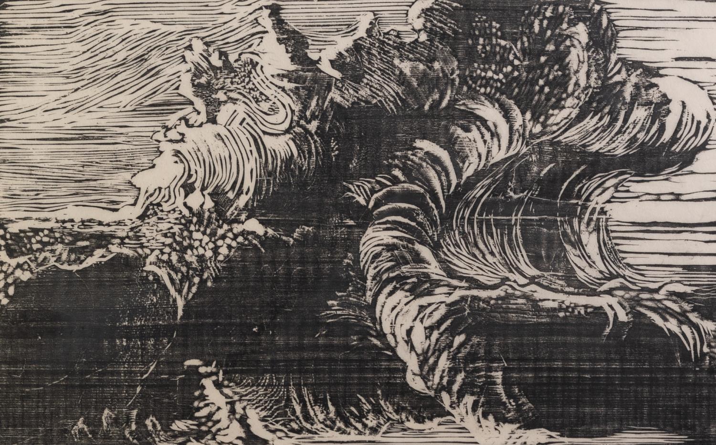 CHRISTINA EMK, (TWENTIETH/ TWENTY FIRST CENTURY) THREE SIGNED ARTIST PROOF PRINTS: WOODCUT ?