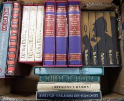 FOLIO SOCIETY. Arthur Conan Doyle- Sherlock Holmes Complete Stories, 5 vol set. Thomas Hodkin The
