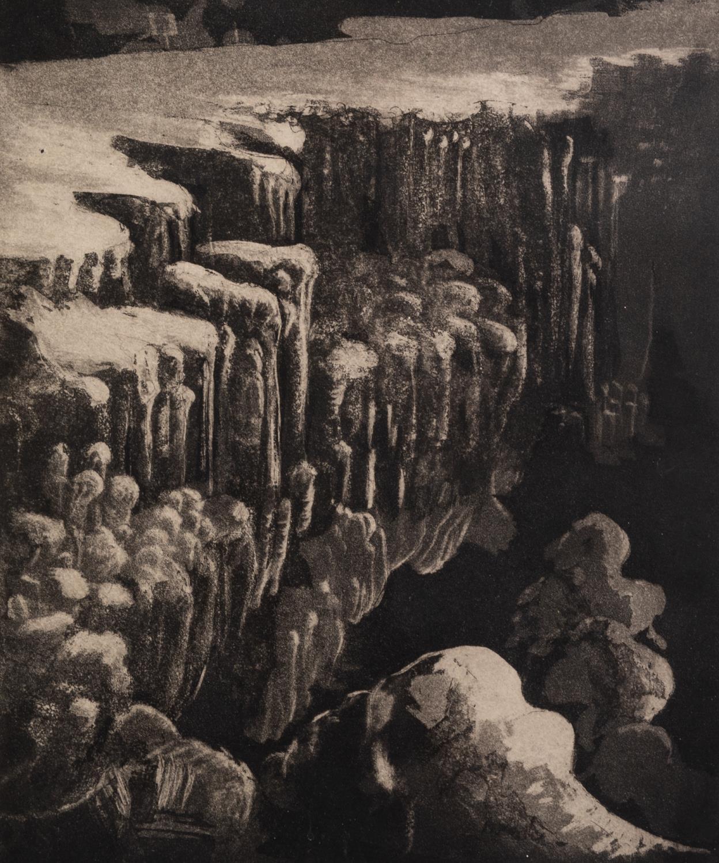 CHRISTINA EMK, (TWENTIETH/ TWENTY FIRST CENTURY) THREE SIGNED ARTIST PROOF PRINTS: WOODCUT ? - Image 2 of 3