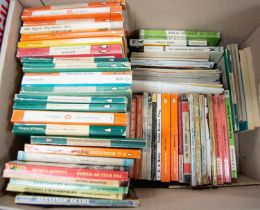 A quantity of Vintage paperback titles mixed genre Crime Thriller etc, many penguin examples, Pan,