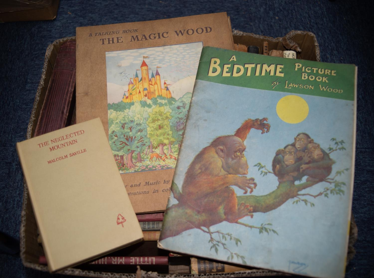 CHILDRENS, FICTION. Phillips, Paul- A Talking Book, The Magic Wood, IPL, production, Horace Marshall - Image 2 of 3